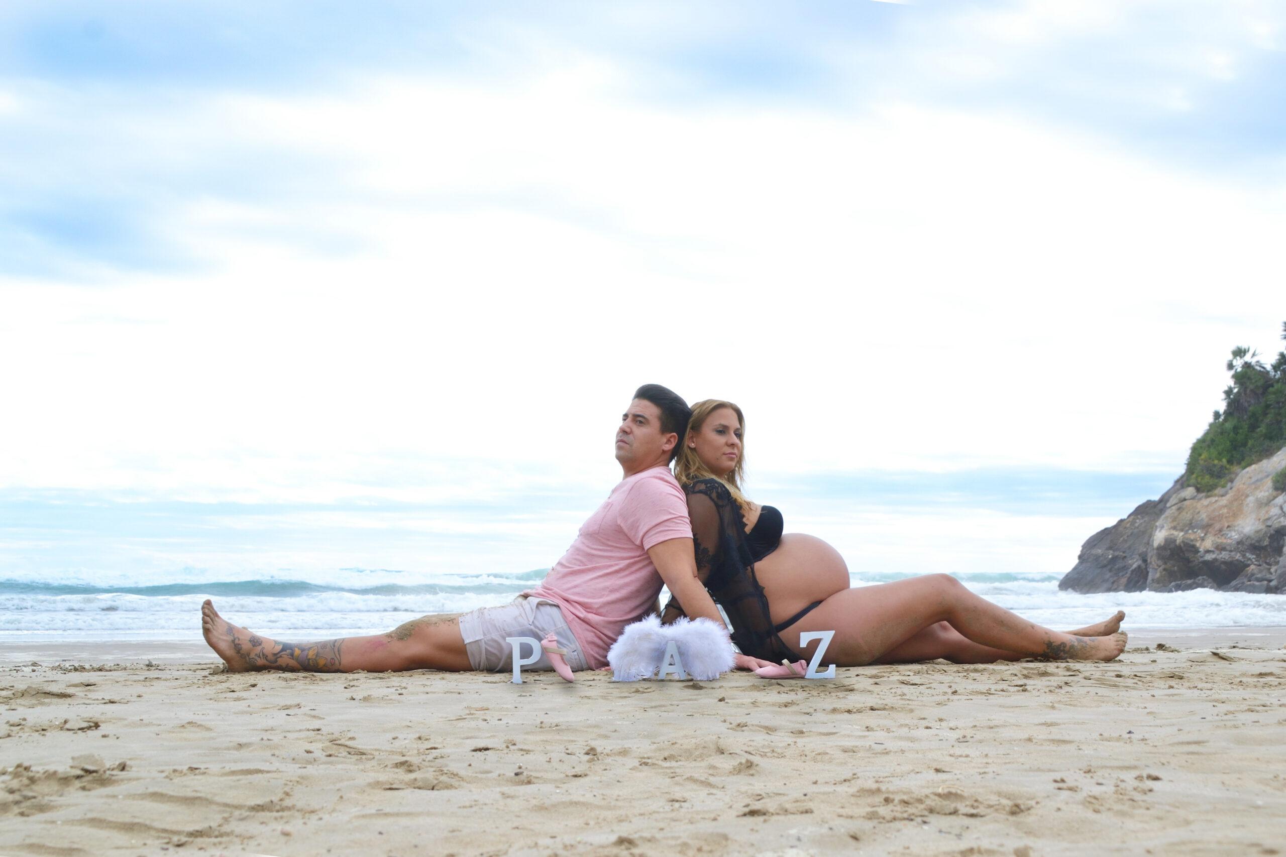 Esther embarazo playa 1 web