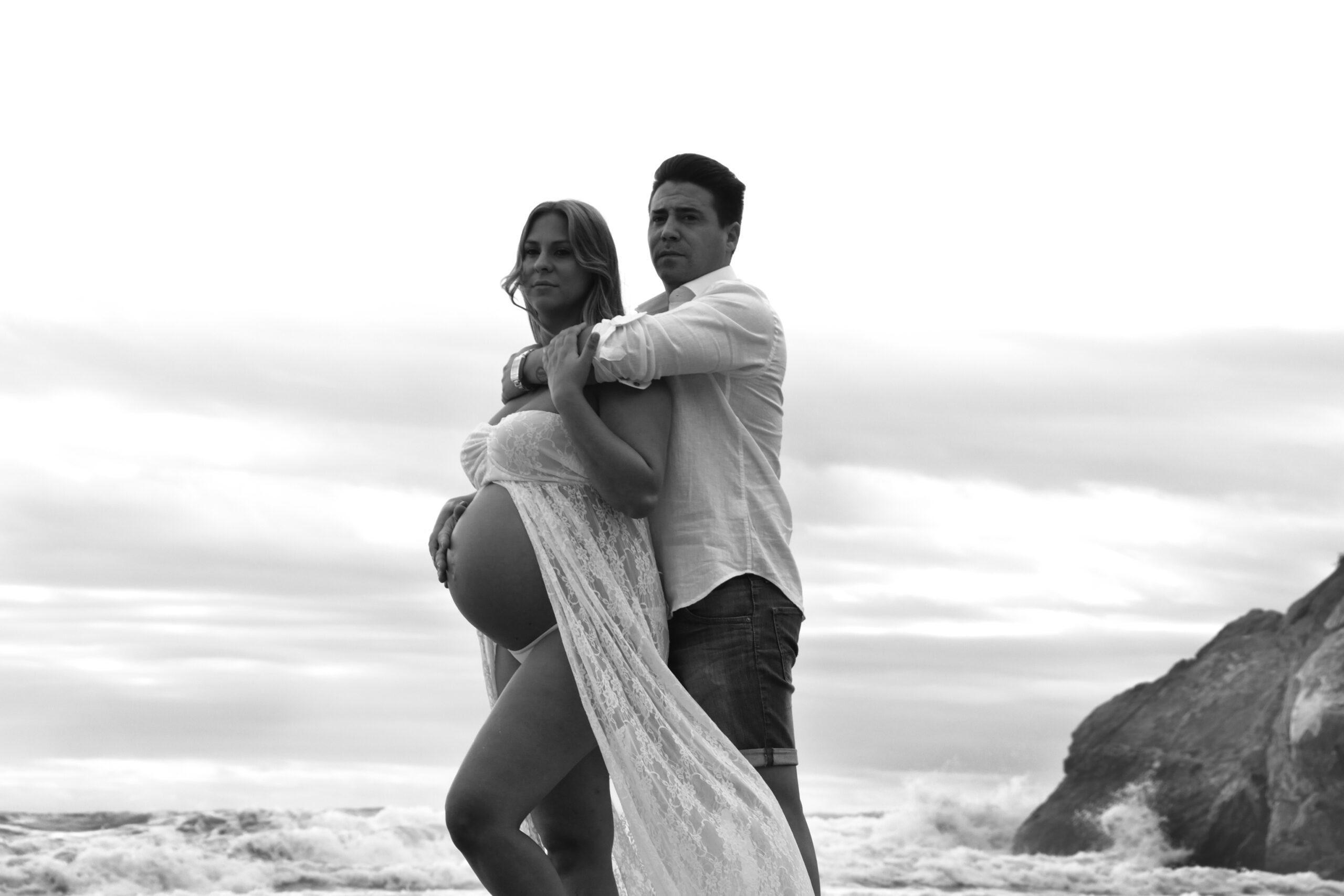 Esther embarazo playa 12 negro web