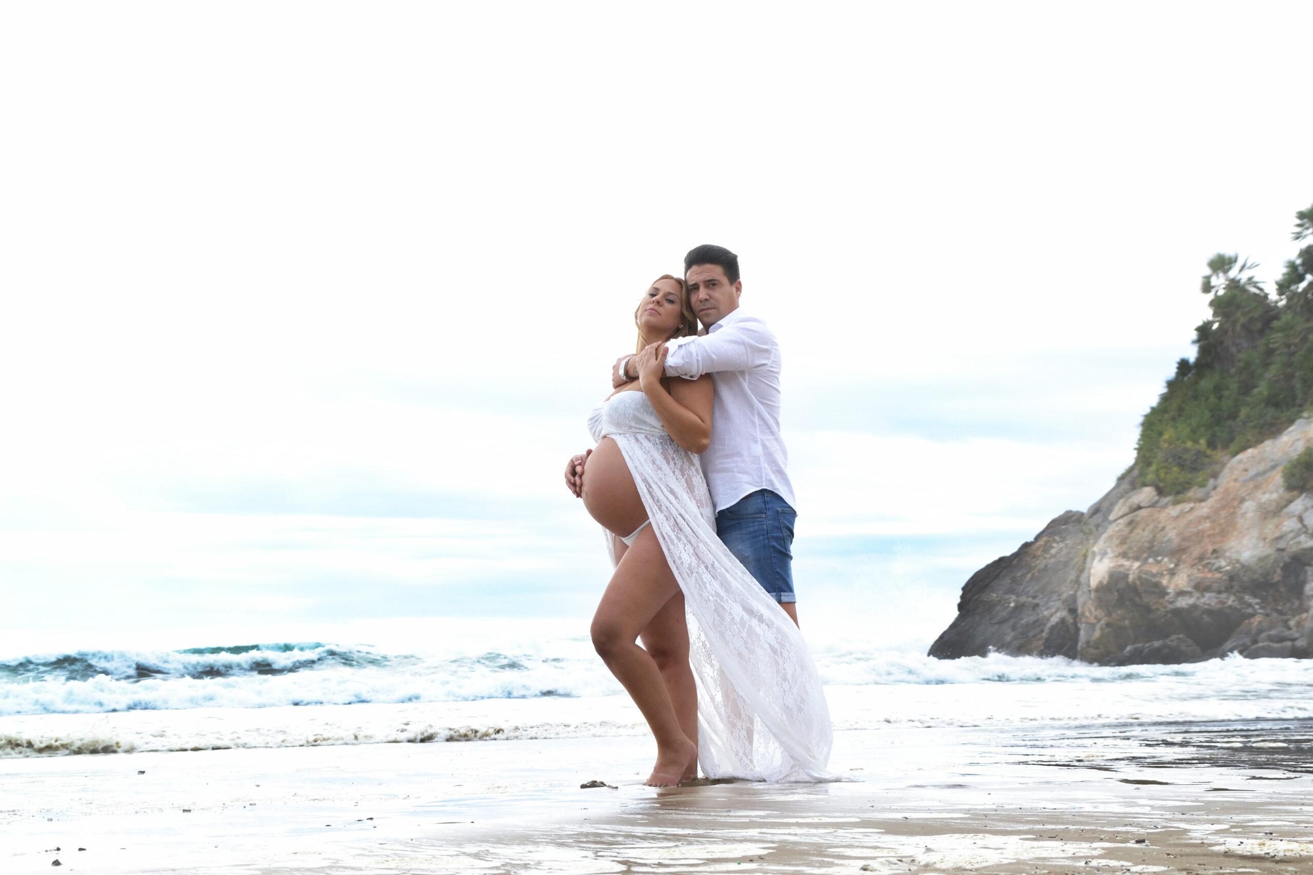 Esther embarazo playa 13 web