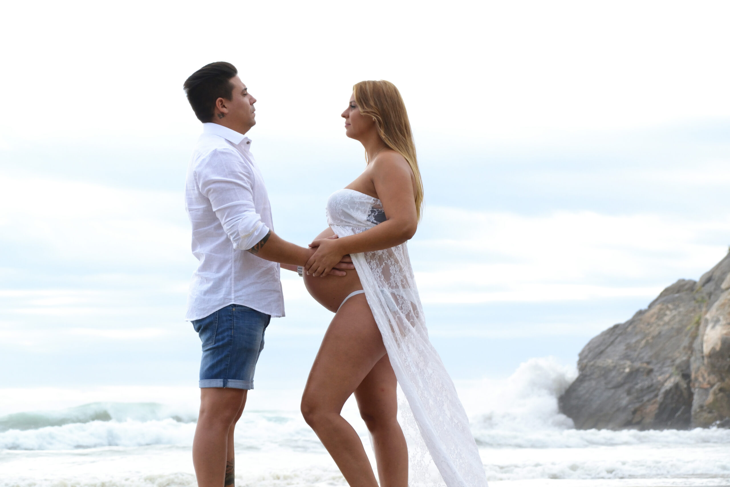 Esther embarazo playa 7 web